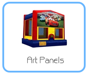Bounce Hoses Rentals - Art Panels
